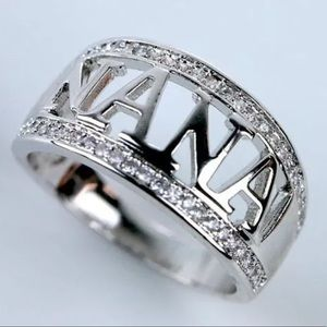925 Sterling Silver Nana Ring